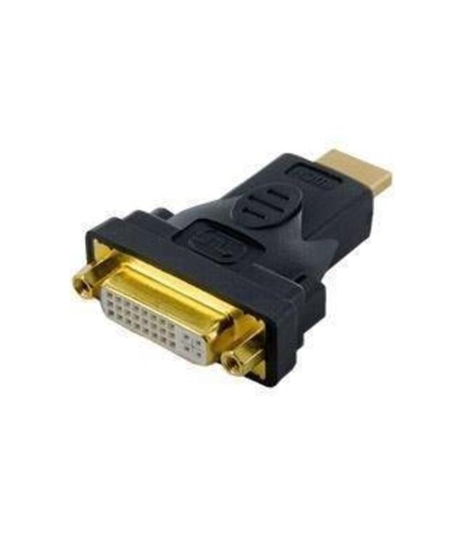 Adaptateur HDMI /M a DVI-I /F