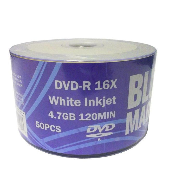 BlueMagic DVD-R 16X 50PK