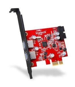 Controleur USB 3.0 2 ports PCI-Express ALIMENTER