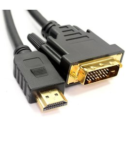 Cable DVI A HDMI 15 pieds M/M