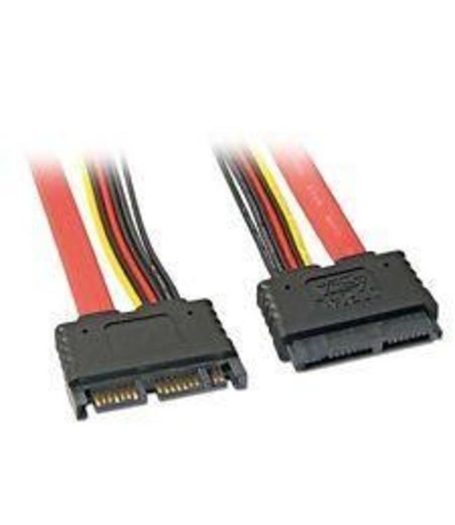 Extension de cable SATA combine 18 pouce