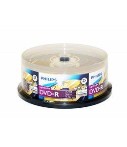 Philips DVD-R 16X Lightscribe 25PK