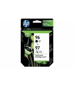 Cartouche HP 96 Noir + 97 Tri couleurs