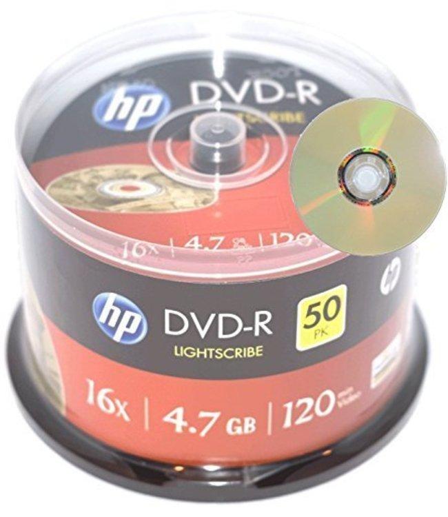 HP DVD-R LightSribe 25PC