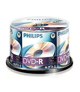 Philips DVD-R 16X 50PK