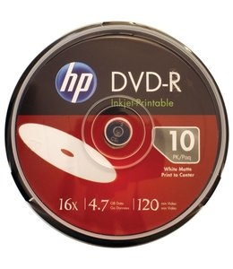 DVD-R Imprimable HP 10 PK