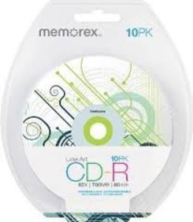 CD-R Memorex 10PK