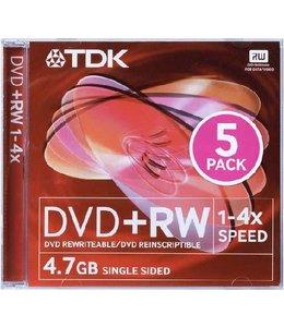 TDK DVD-RW 5PC
