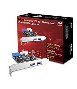 Vantec Carte PCIe  USB 3.0 2 Port