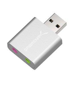 Sabrent Adaptateur de son USB Sabrent Mac Aluminum