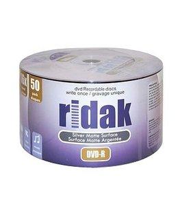 Ridak DVD-R 16X 50PK