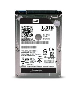 Disque Dur 1tb 2,5'' Western Digital Black