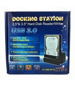 Powerdata Station d'accueil PowerData pour SATA 2.5'' & 3.5'' USB 3.0