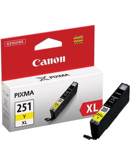Canon CLI251XL Jaune Encre Compatible