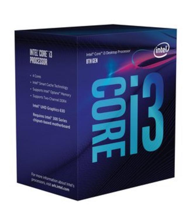 Intel i3 8100 @3.6Ghz