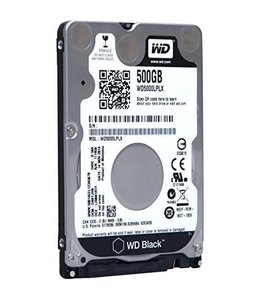 Disque Dur 500 Go 2,5'' Western Digital Black WD5000LPLX