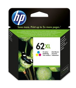 Cartouche HP 62XL couleur recyclée