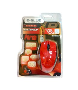 Souris FIlaire USB (retractable) E-Blue Extency