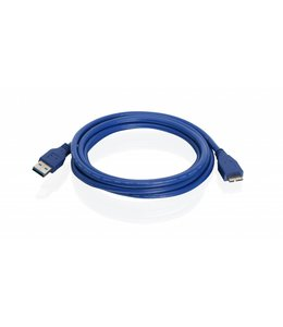Cable Iogear USB 3.0 AM/Micro-B 6.5Ft
