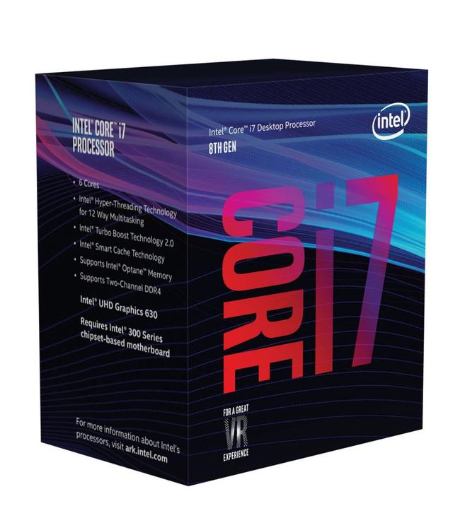 Intel Core i7 8700 @3.2Ghz