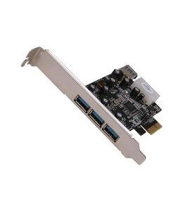 PCIe Card Vantec 4x USB 3.0UGT-PC341