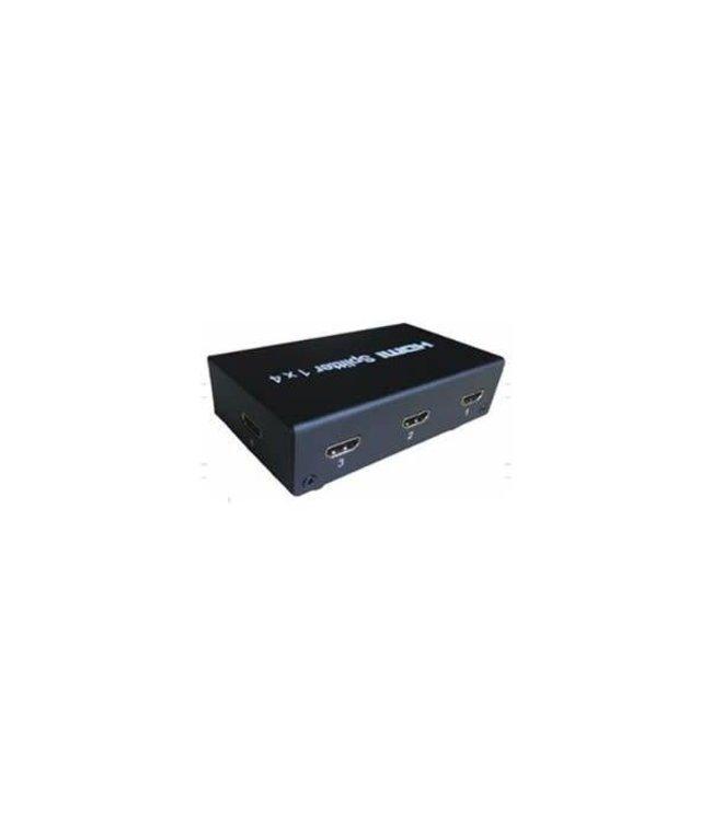 Splitter HDMI 1x4 avec alimentation