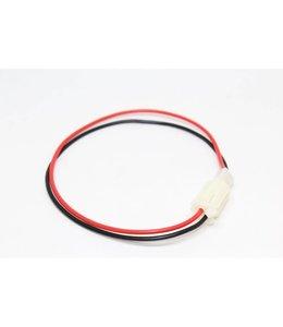Câble Molex 2p plug mâle à 2p jack femelle, 30 cm