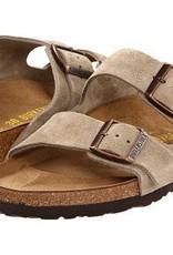 BIRKENSTOCK Birkenstock Arizona Taupe Suede Sandal