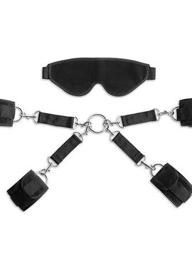Liberator Liberator Deluxe Bond Cuff and Blindfold Kit