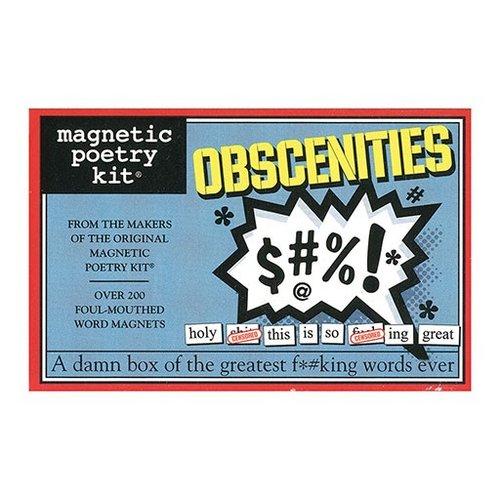 Magnetic Poetry Kit - Obscenities