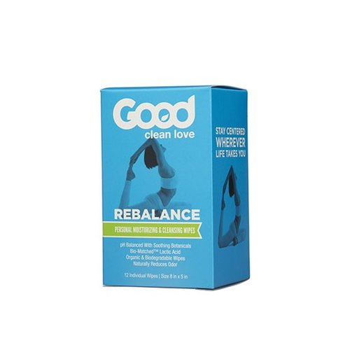 Good Clean Love Good Clean Love Rebalance Cleansing Wipes 12 ct.