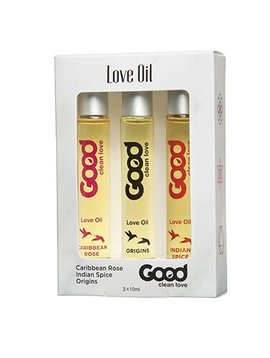 Good Clean Love Good Clean Love Oil 10ml Sampler 3 pack
