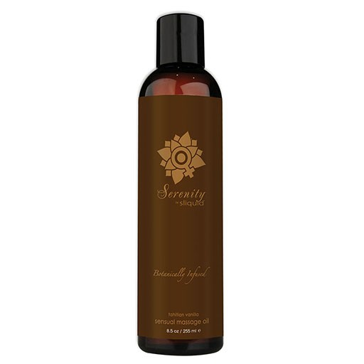 Sliquid Sliquid Organics Massage Oil Serenity 8.5oz