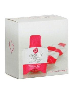 Sliquid Sliquid Organics Stimulating O Gel Cube 6-pk