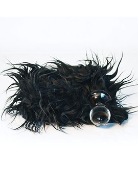 Crystal Delights Crystal Delights Minx Plug, Mongolian Black