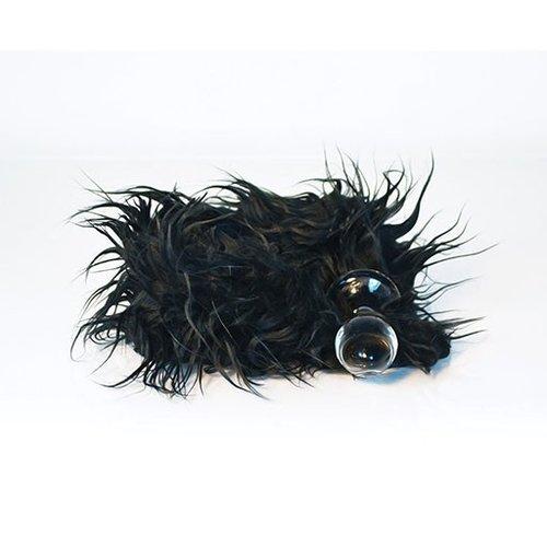 Crystal Delights Crystal Delights Minx Plug, Mongolian Black