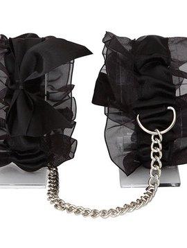Bijoux Indiscrets Bijoux Indiscrets Frou Frou Satin Organza Cuffs