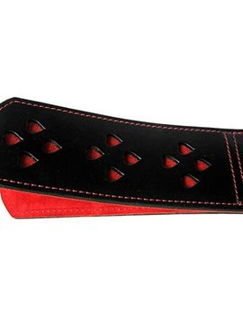 Ruff Doggie Styles Ruff Doggie Styles Spank-HER Double Heart Slapper Hearts - Red
