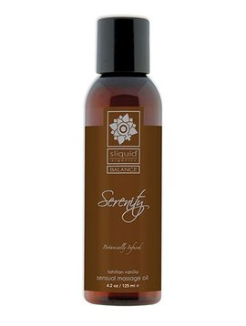 Sliquid Sliquid Organics Massage Oil Serenity 4.2oz