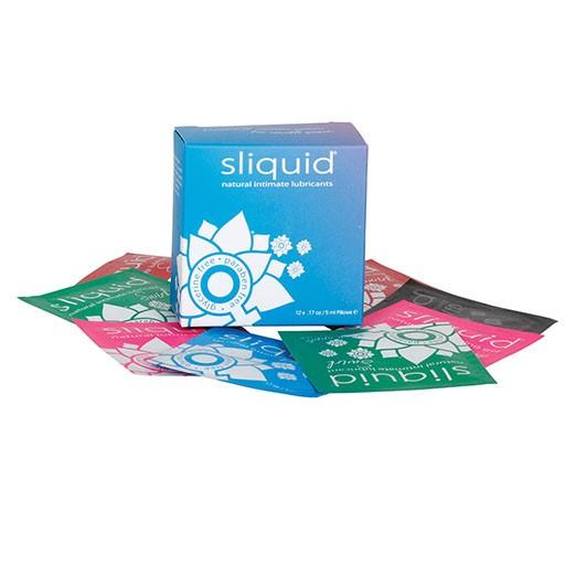 Sliquid Sliquid Naturals Lube Cube 12-pk