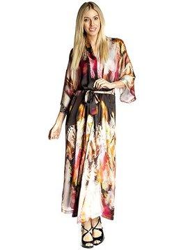 Christine Long Silk Robe