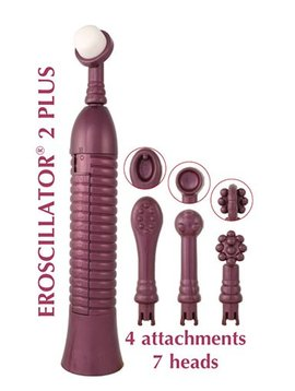 Eroscillator Eroscillator 2 Plus with Soft Touch Finger Tip - Purple