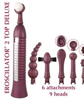Eroscillator Eroscillator 2 Top Deluxe with Soft Touch Finger Tip - Purple