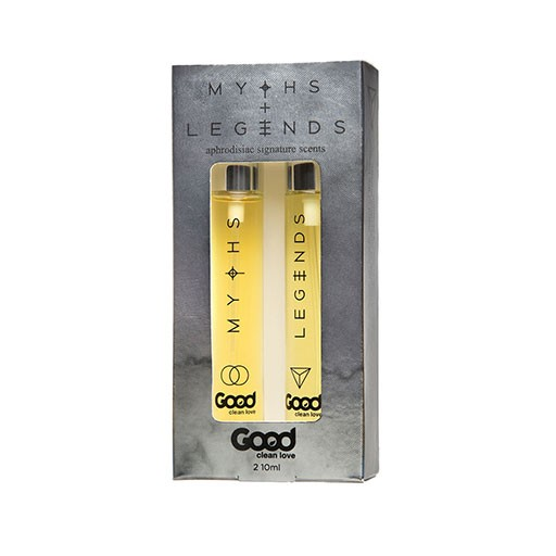Good Clean Love Good Clean Love Myths/Legends Aphrodisiac Scent Set 10 ml. each