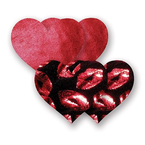 Bristols 6 Bristols 6 Nippies - Heart Hot Lips Red A/B