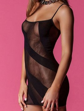 Hauty Hauty Knitted Illusion Chemise