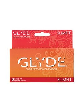 Glyde Glyde Slimfit Condoms 12PK