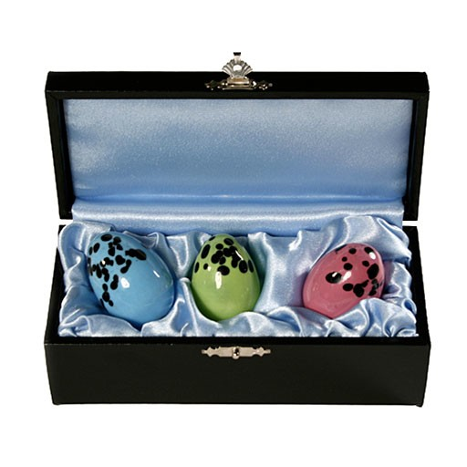 Shiri Zinn Shiri Zinn Speckled Glass Love Eggs