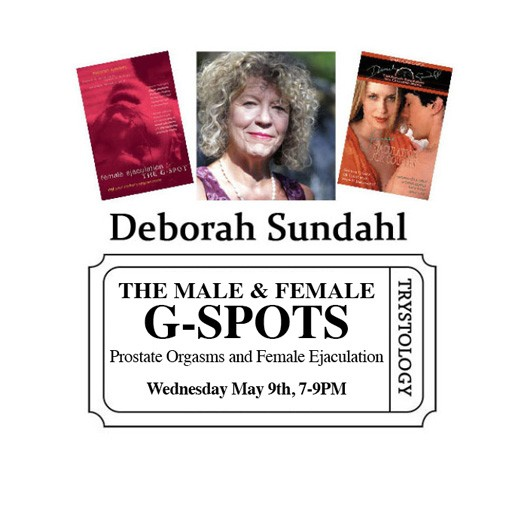 Deborah Sundahl Deborah Sundahl The Male and Female G-spots: Prostate Orgasms and Female Ejaculation<br /> Co-ed Lecture