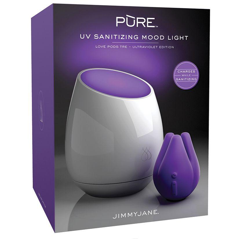 Jimmyjane Jimmyjane Pure UV Sanitize Moodlight Love Pods Tre
